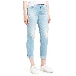 AG || Ex-Boyfriend Cropped Jeans - 23 Years Cerule